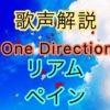 One Direction リアム・ペインの歌い方・歌唱力【歌声解説】