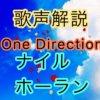 One Direction ナイル・ホーランの歌い方・歌唱力【歌声解説】