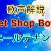Pet Shop Boys ニール・テナントの歌い方・歌唱力【歌声解説】